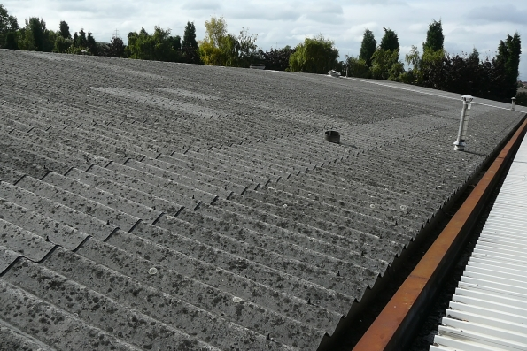 asbestos containing material roofing sheets