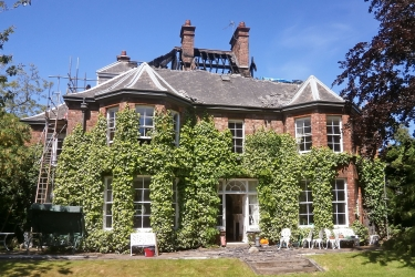 Design and reinstatement works to a Grade 2 former vicarage following extensive fire damage