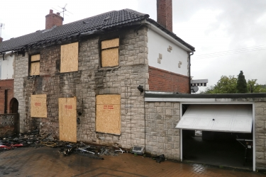 Insurance Reinstatement works with full Project Management following serious house fire