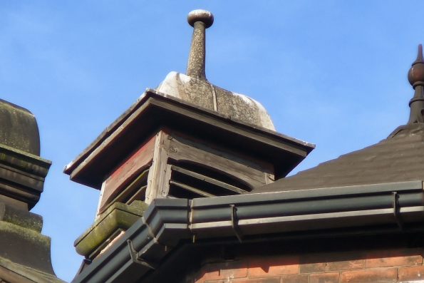cupola needing redecoration
