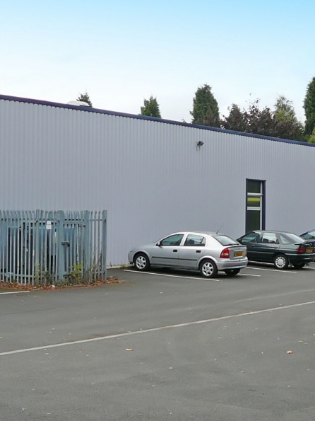 Full building survey of large warehouse and offices in Normanton