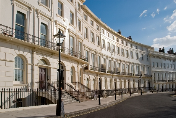 Conservation to listed Georgian dwellings