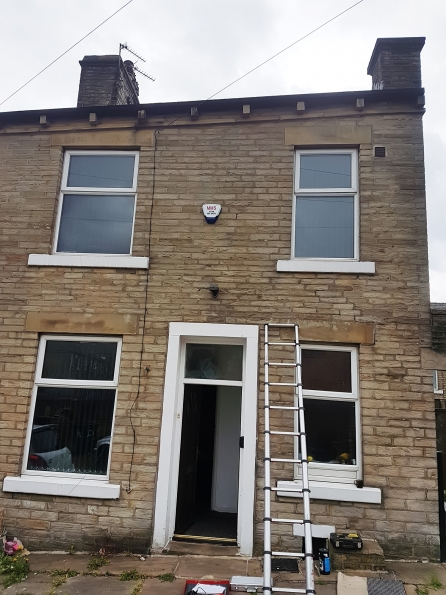 Detailed inspection and report of failed cavity wall insulation to two storey dwelling in Halifax